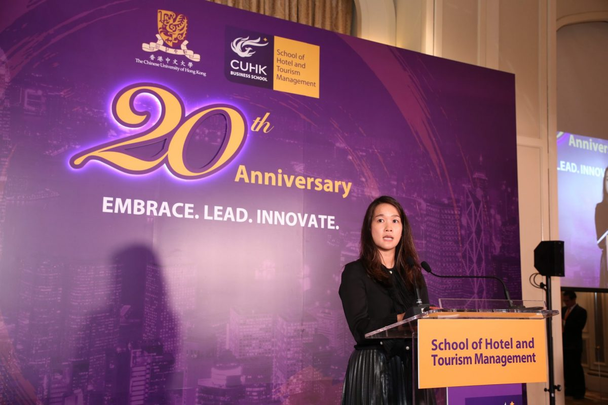 Ms. Sonia Cheng, Chairman, Advisory Committee on Hotel and Tourism Management, CUHK, CEO of Rosewood Hotel Group