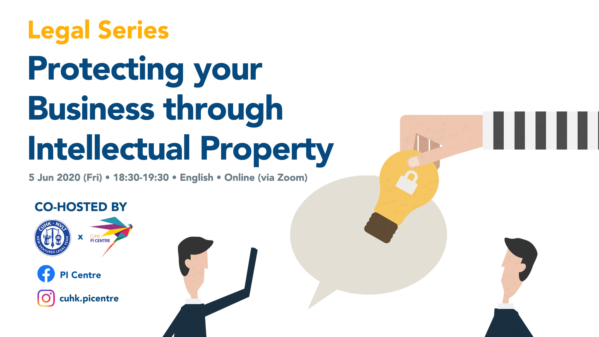 Legal Series: Protecting your Business through Intellectual Property Workshop