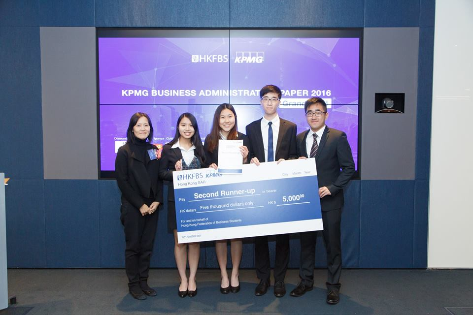 CUHK Business School Students Receive Top Awards at Six Case