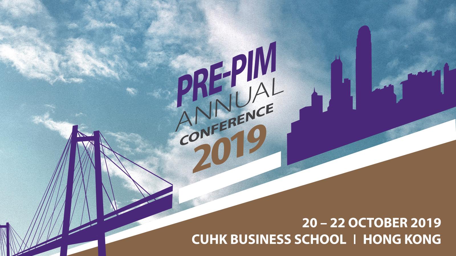 PrePIM Conference Web Banner