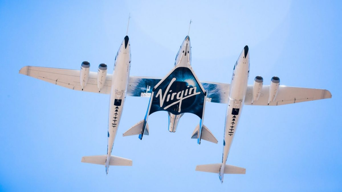 SpaceShipTwo (source: Virgin Galactic)