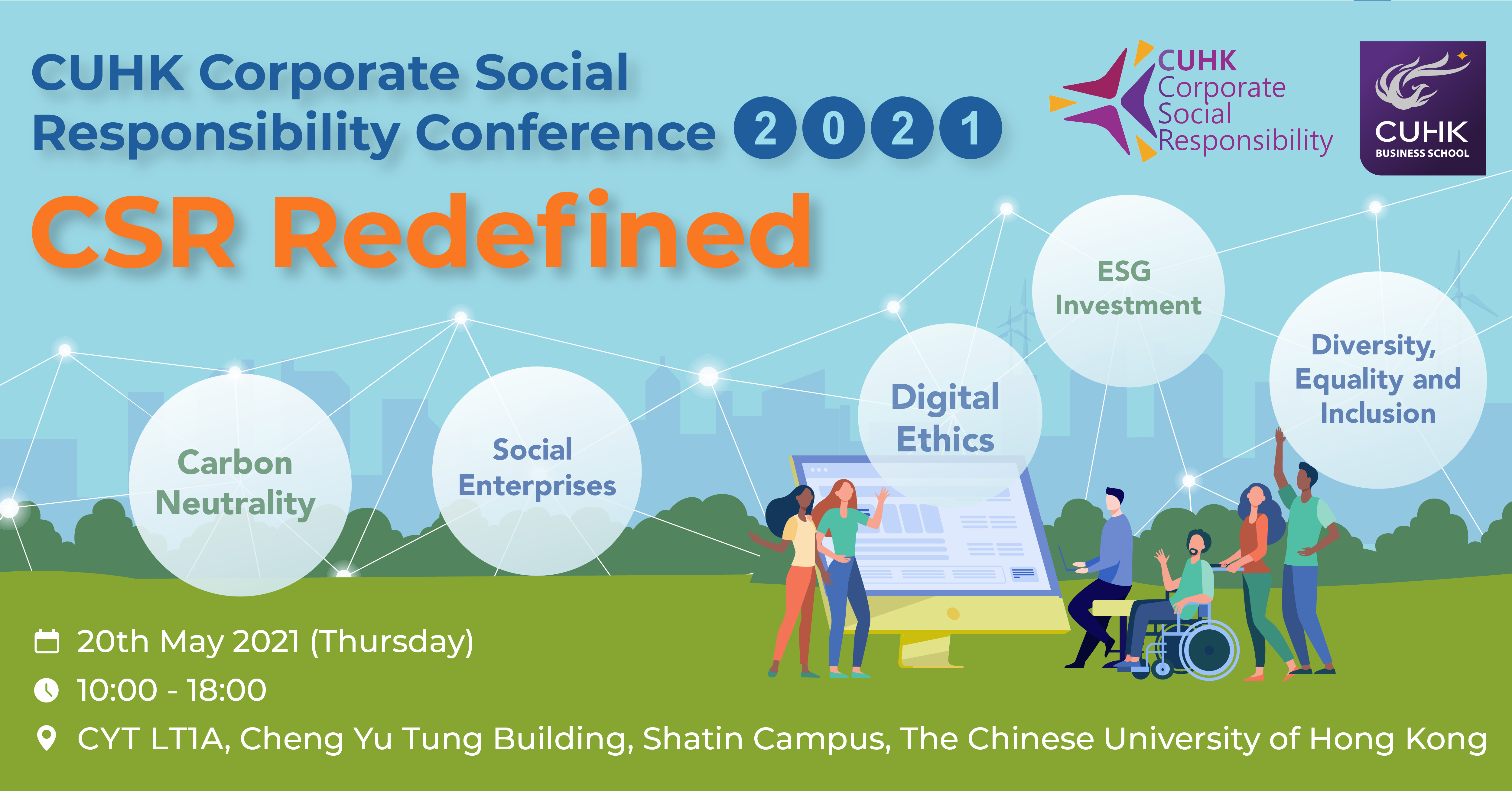 CUHK MBA CSR Conference 2021