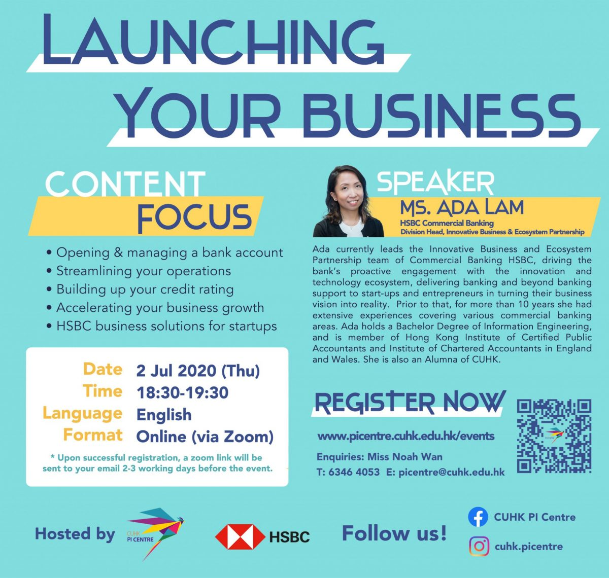 Launching Your Business_CUHK Pi Centre