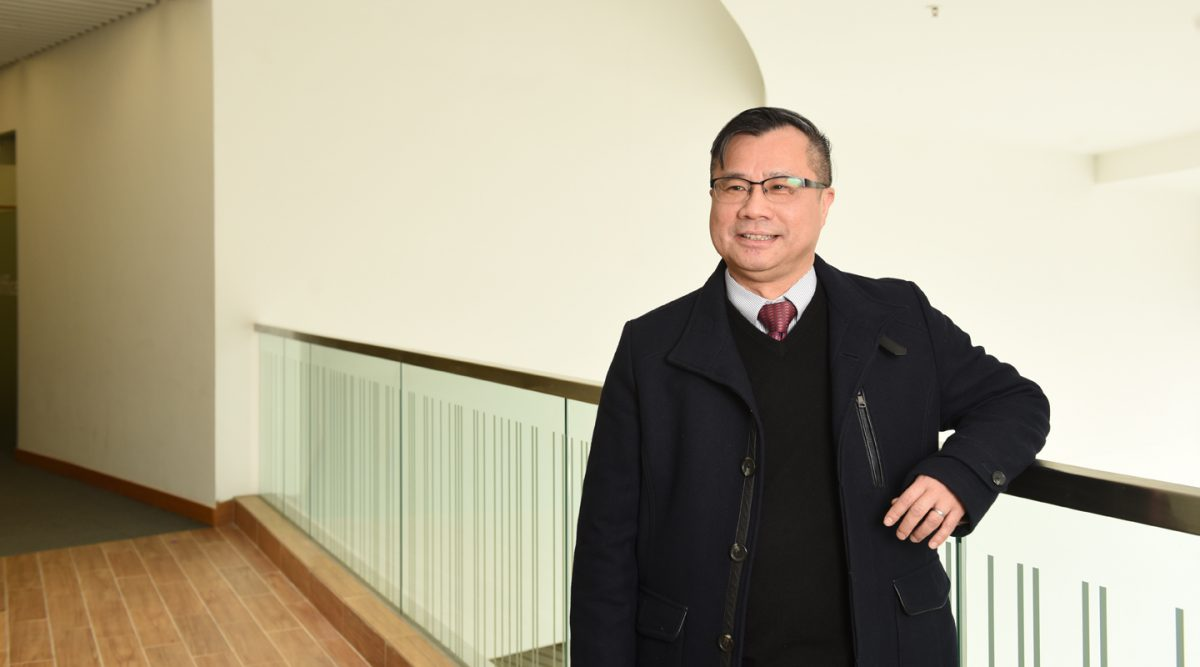 Prof. Chan Wai-sum (Photo by ISO Staff)